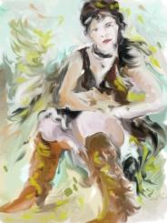 Lonneke sketch
