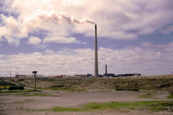 Flin Flon, Manitoba, 1982 Smelter