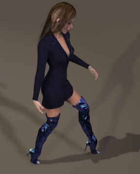 Vickie render normal 3