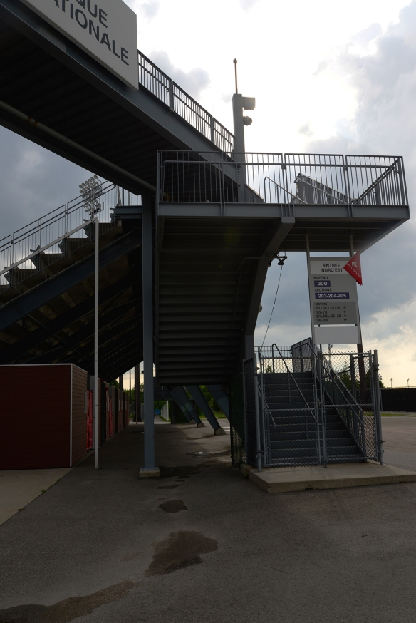 Stade Uniprix, parc Jarry