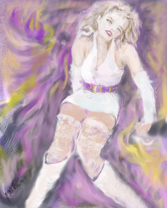 E-0007-004c; modèle imaginaire/Imaginary model, Corel Painter et tablette/tablet and Corel Painter , 2015-08-23