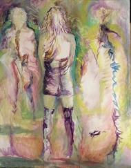 443-05, Ariana Grande, acrylique, 22x28 po/in (55x70 cm), 2015-09-23