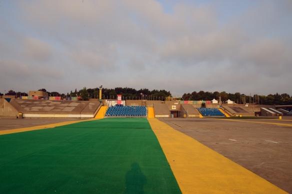Esplanade du stade olympique, 2015-08-30